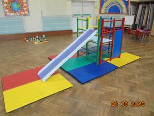 Our climbing frame