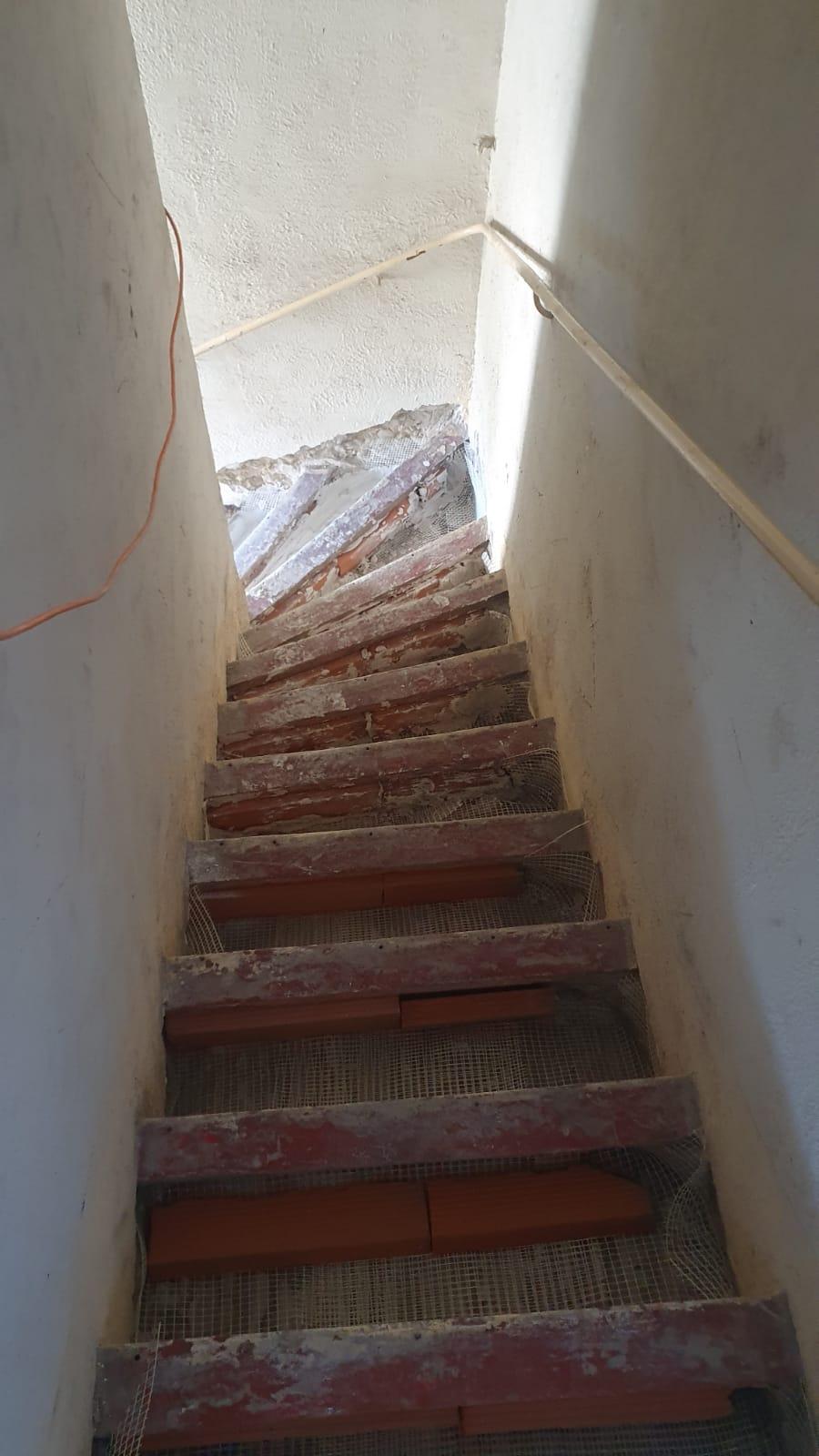 reprise en sous oeuvre escalier