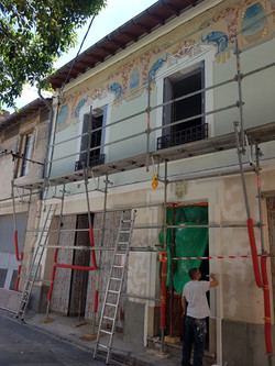 Décor et peinture façade exterieur