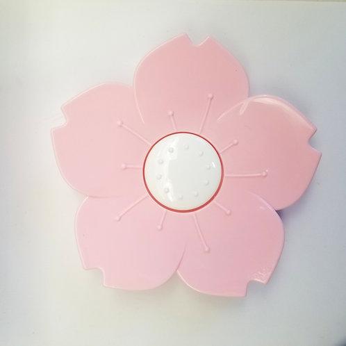 Soap dish- pin flower