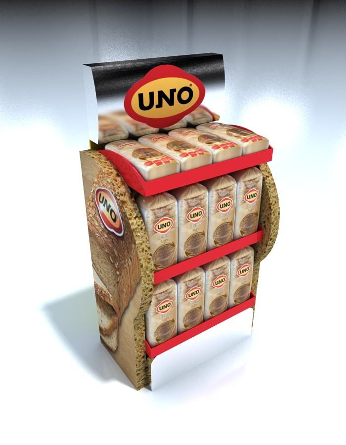 Ayaklı Ahşap Stand | Uno