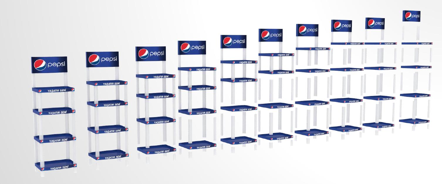 Enjeksiyon Stand | Pepsi