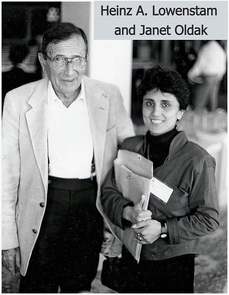 Heinz Lowenstam, Janet Oldak