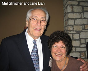 Mel Glimcher and Jane Lian