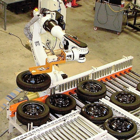 SPARE TIRE ROBOT SYSTEM