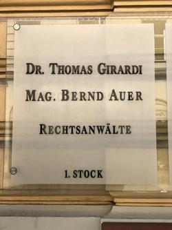 Rechtsanwaltskanzlei Girardi & Auer