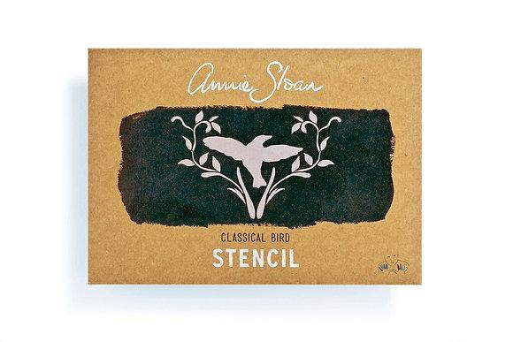 Classical Bird Stencil