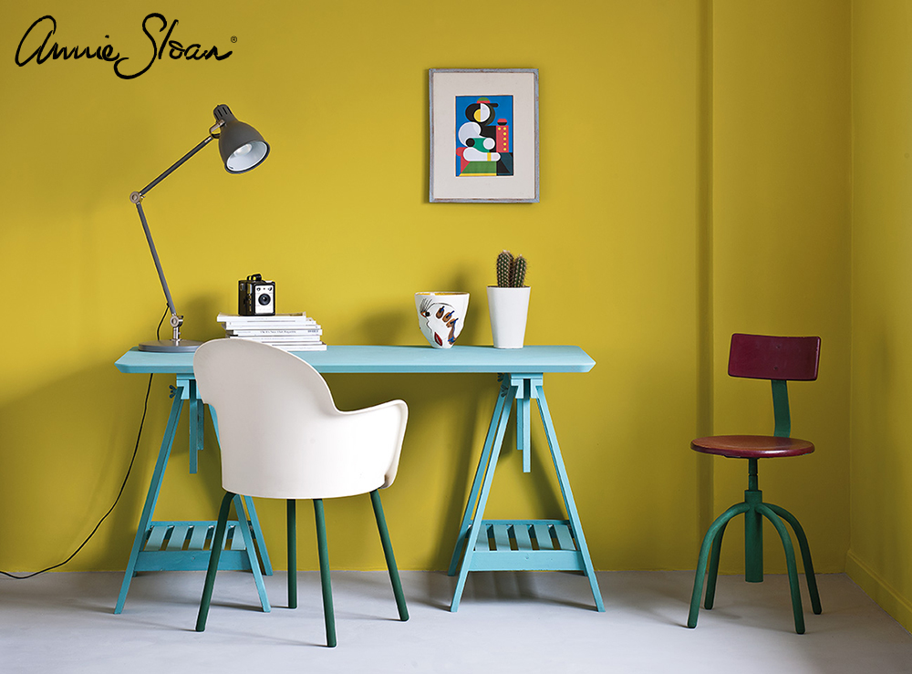 English Yellow Modern Retro study, Prove