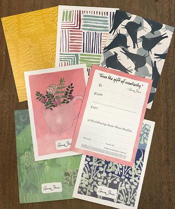 Annie Sloan Gift Vouchers