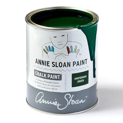 1L Annie Sloan Chalk Paint - Amsterdam Green to Duck Egg Blue