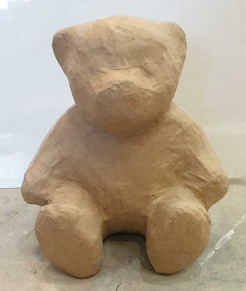 Paper Craft Paint Project -Teddy Bear