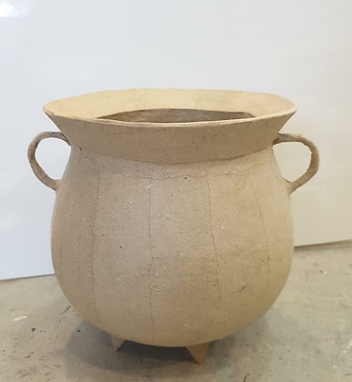 Paper Craft Paint Project - Urn