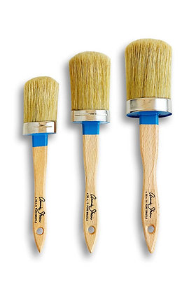 Pure Bristle Oval Paint Brush