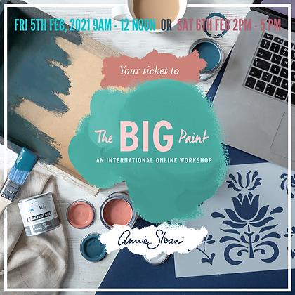 The Big Paint Online Workshop