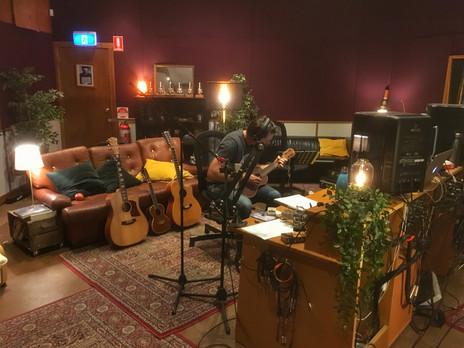 In the studio with Matt Fell