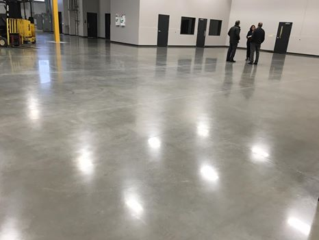 Burns Industrial - Polished Concrete