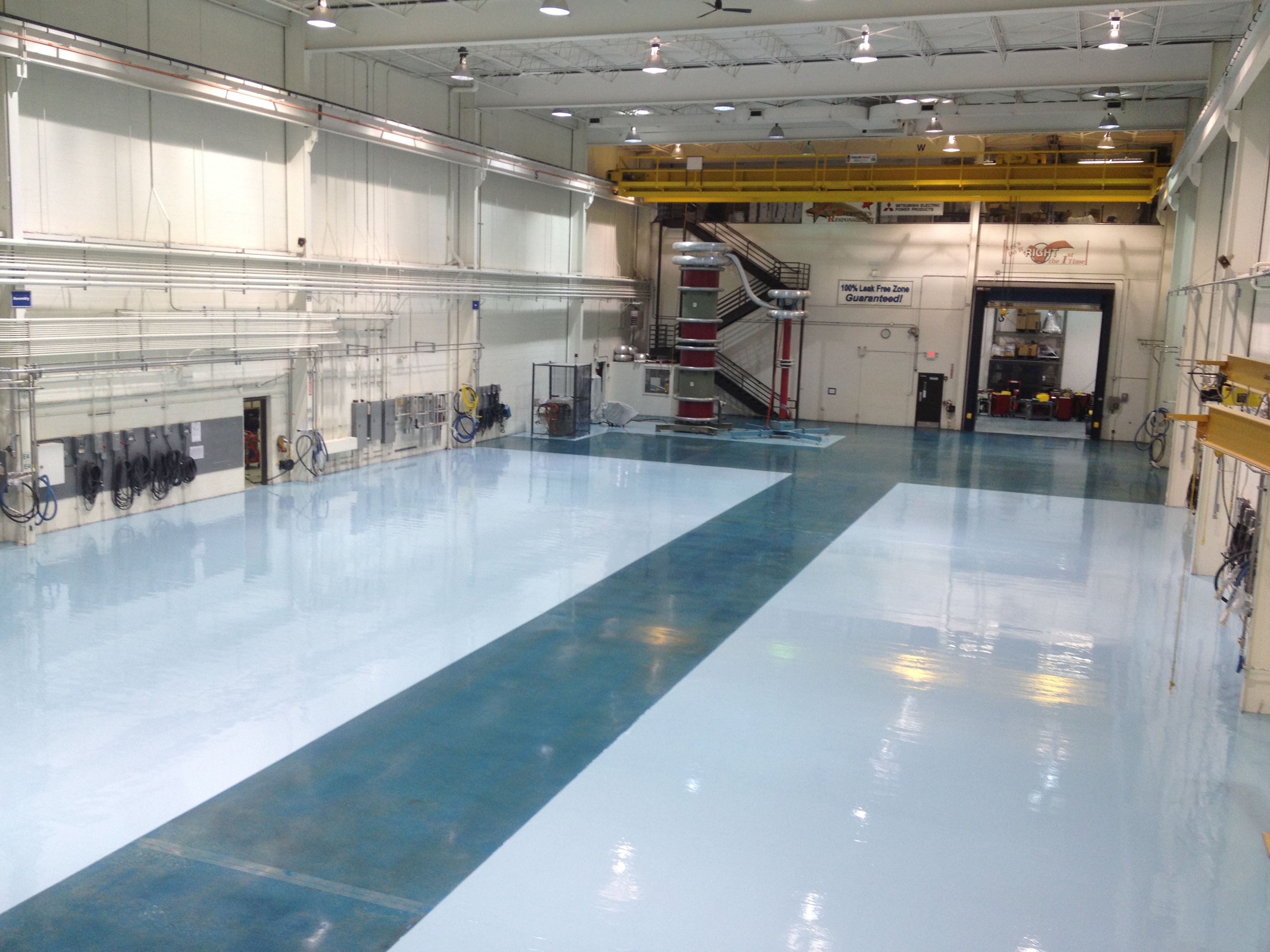 Industrial Concrete Polish and Epoxy