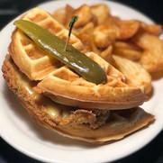 Chicken & Waffle Sandwich