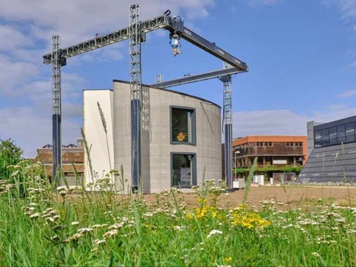 3D-Printer Completes the Largest 3D-Printed Home in Europe – in Just 3 Weeks
