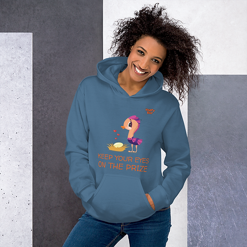 Unisex Hoodie - EYES ON THE PRIZE WITH BOING