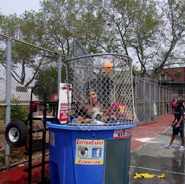 Dunk Tank - Mr. Mazz!