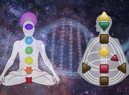 The 7 Chakras and the 9 Centers