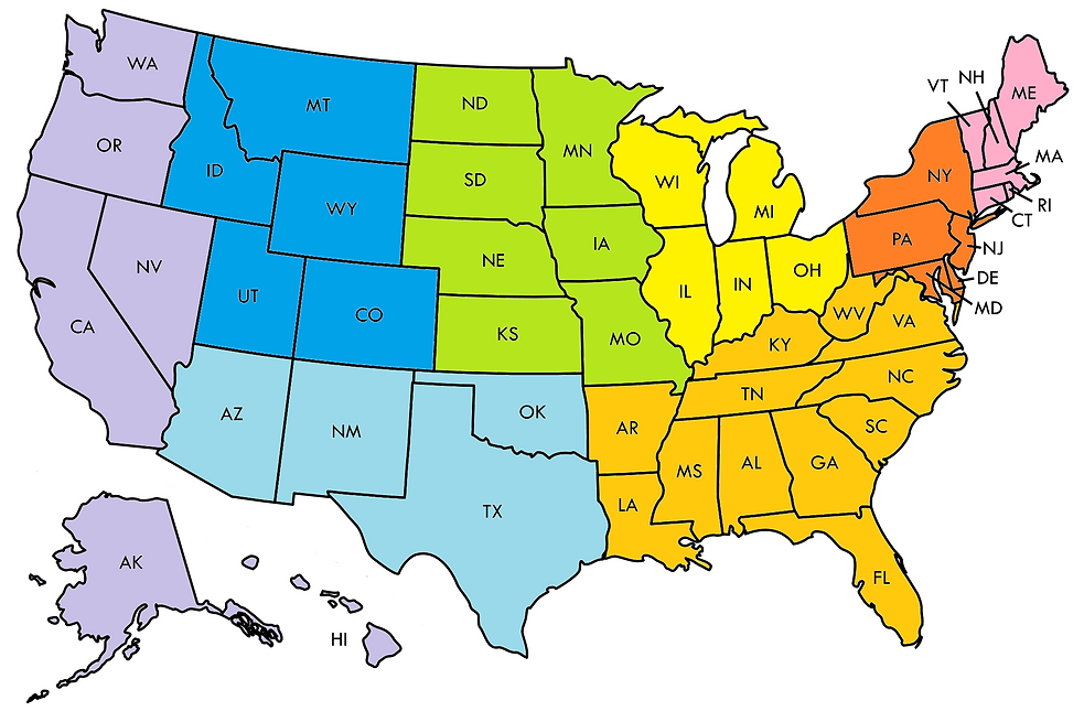 USA Map BEA Regions.png