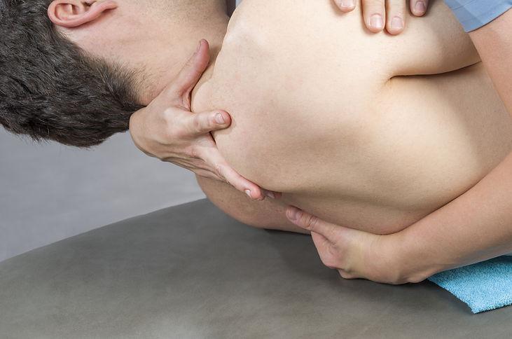 manipulation dorsale