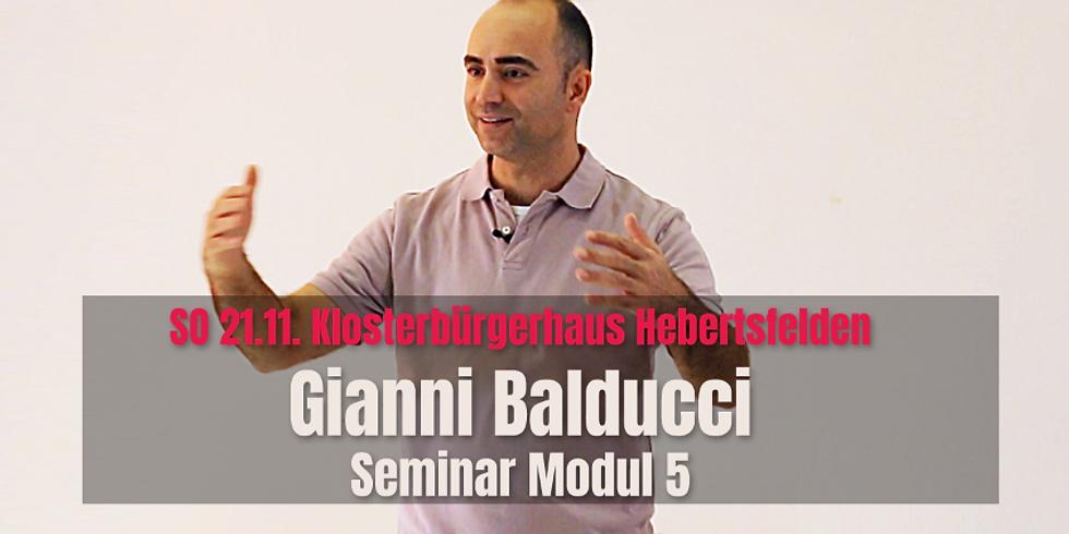 """Gianni Balducci - """"In der eigenen Kraft sein"""" (5)"""