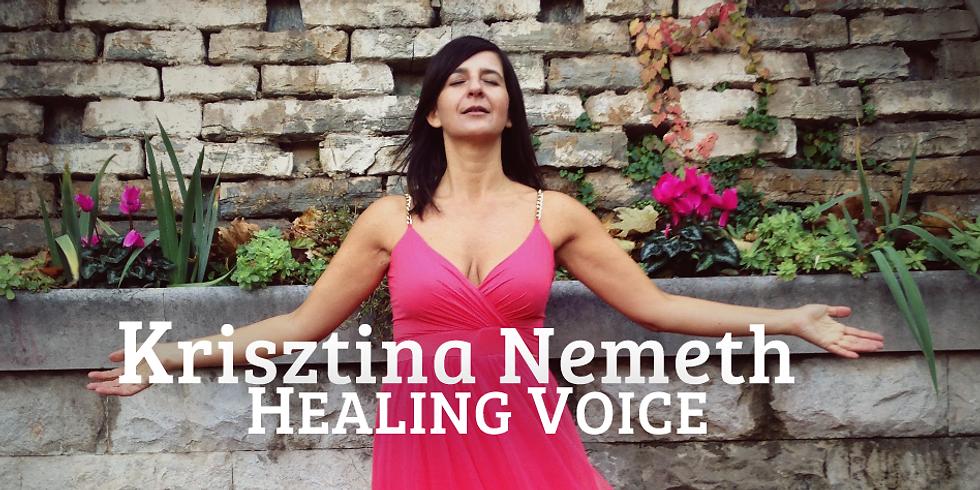 Live-HealingVoice mit Kriszina Nemeth
