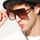 Thumbnail: Square Oversized Sunglasses With Frame