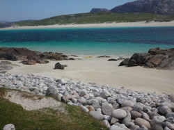 from Scarp looking to Harris