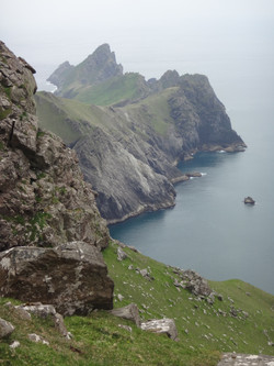 Cliffs of Hirta