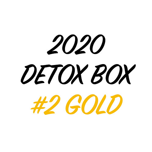 2020 DETOX BOX #2 GOLD KIT