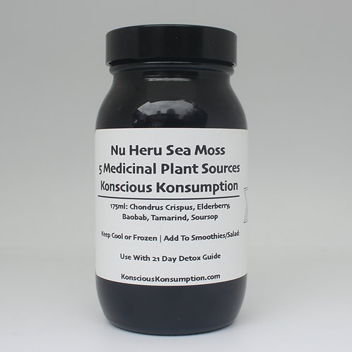 Baby Nu Heru Sea Moss Blend (175ml)