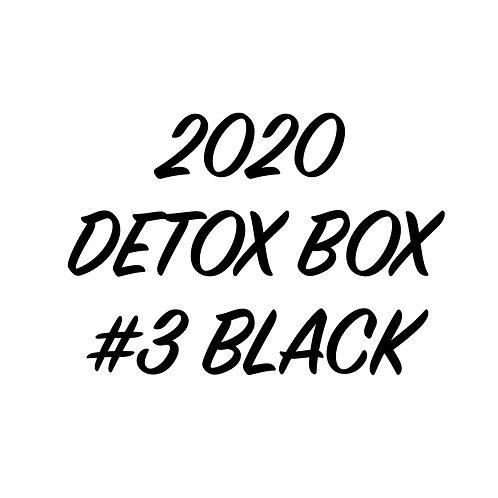 2020 DETOX BOX #3 BLACK KIT