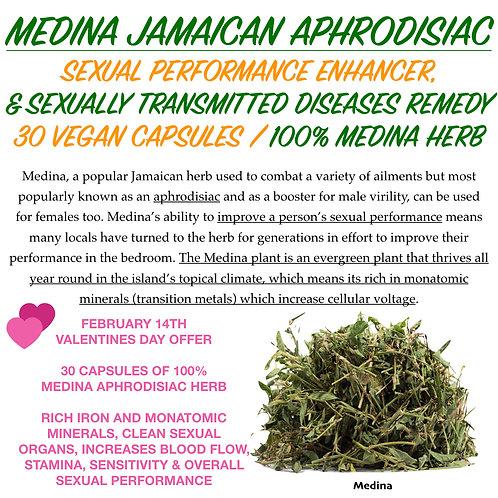 MEDINA JAMAICAN APHRODISIAC CAPSULES