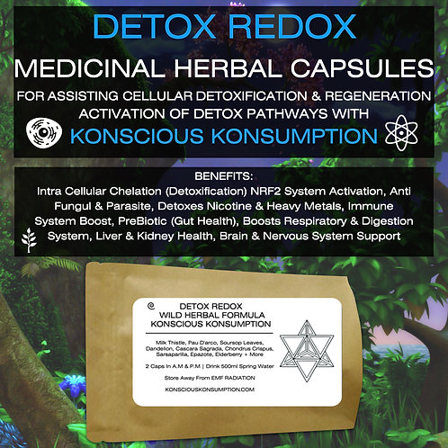 DETOX REDOX CAPSULES