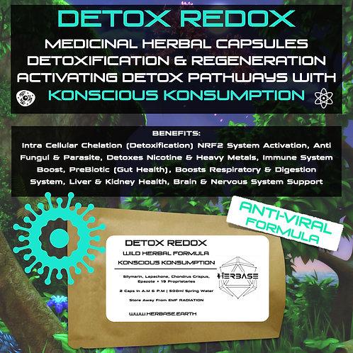 DETOX REDOX (ANTI-VIRAL FORMULA) Capsules