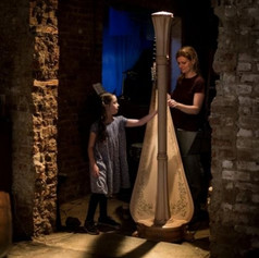 Explore the harp with Ms. Tomina