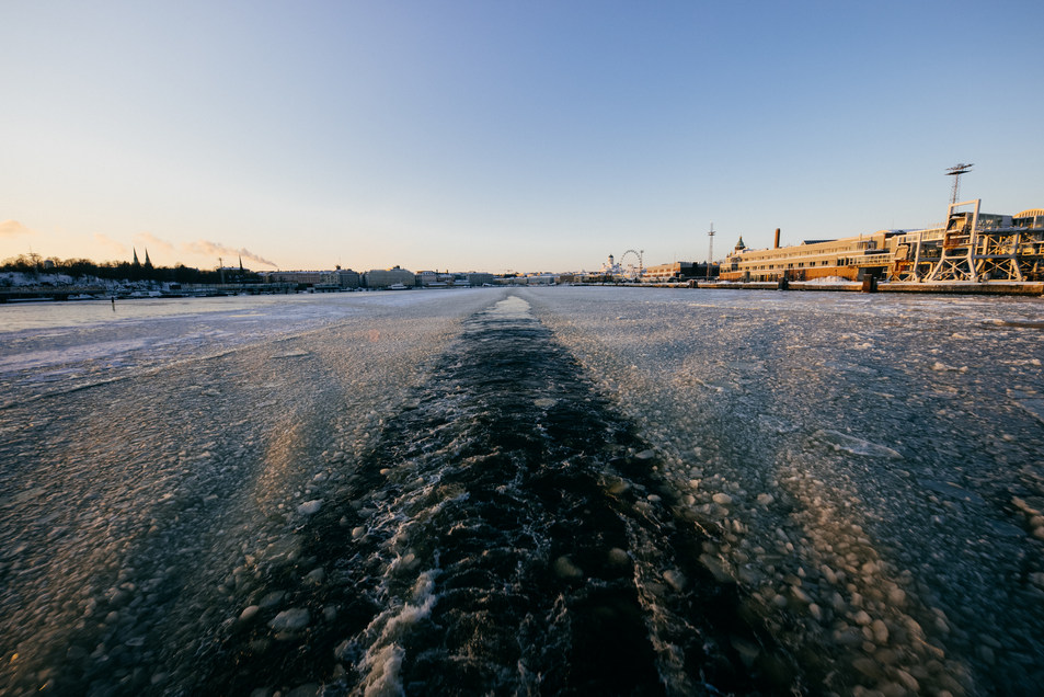 Icy Baltic Sea