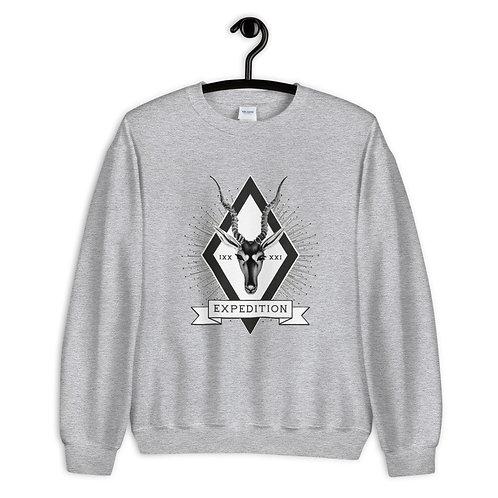 """Sweatshirt """"Expedition"""" weiß"""