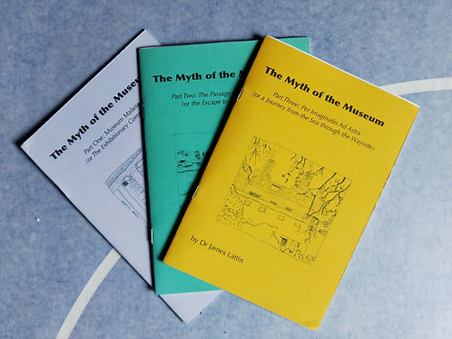 The Myth of the Museum, James Mansfield - set of all 3