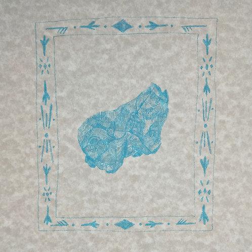 Calf Fragment by Emii Alrai