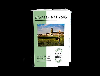 ebook starten met yoga