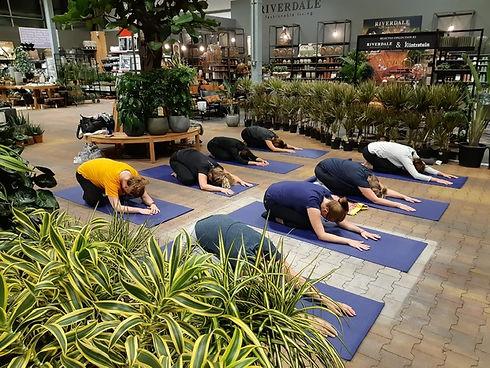 Yoga op locatie, Intratuin Deventer