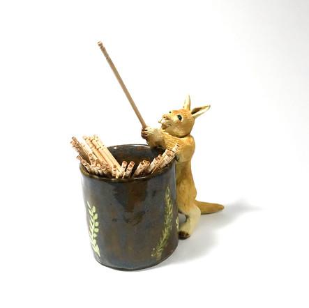 楊枝立て-カンガルー-