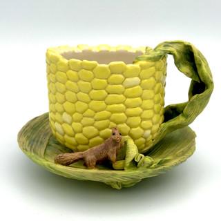 食後の玉蜀黍