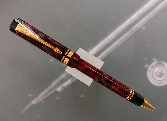 DUOFOLD Burgundy Marbled Ballpoint