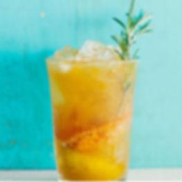 Rum's Revenge Rosemary Tangerine Cooler
